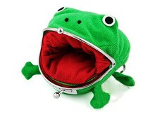 Hallowmas grenouilles zéro portefeuille naruto sac à main animation zéro portefeuille vert grenouilles sac à main accessoires Cosplay