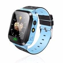 스마트 시계 키즈 손목 시계 터치 스크린 gprs 로케이터 트래커 안티-분실 smartwatch 베이비 시계 원격 카메라 sim 통화
