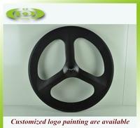 Factory sale carbon tri spoke wheel 700c rear wheel