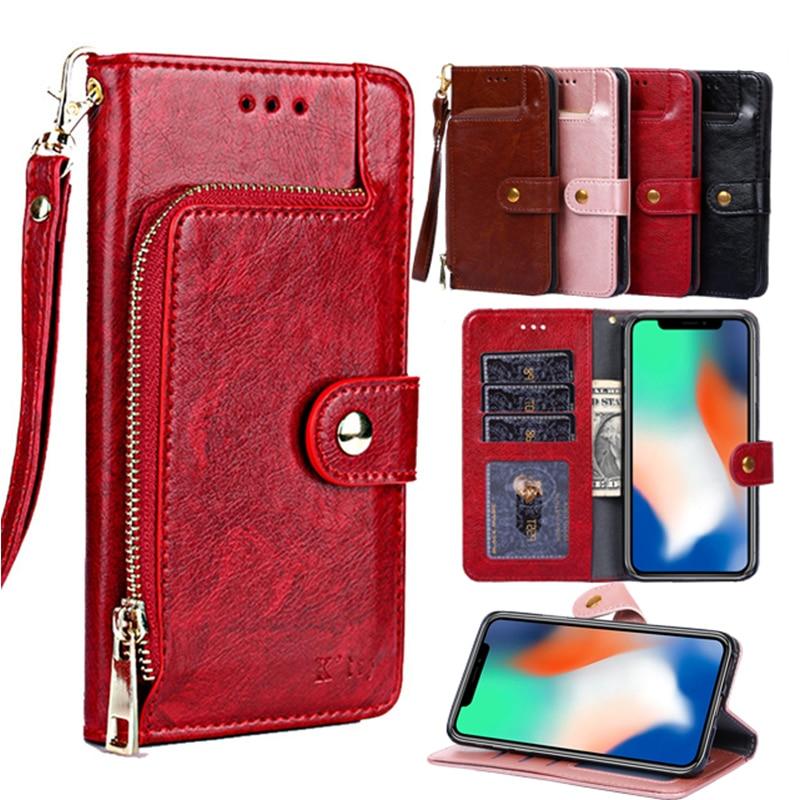 Luxury Wallet PU Leather Case For Huawei P8 P9 P10 P20 Mate10 20 Pro lite mini P30 Lite P30 PRO Nova 3i 2i 3e 2017 Stand Cover