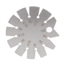 Stainless Steel Bevel Gauge Angle Protractor Range 15-120 degree Gauge Tools