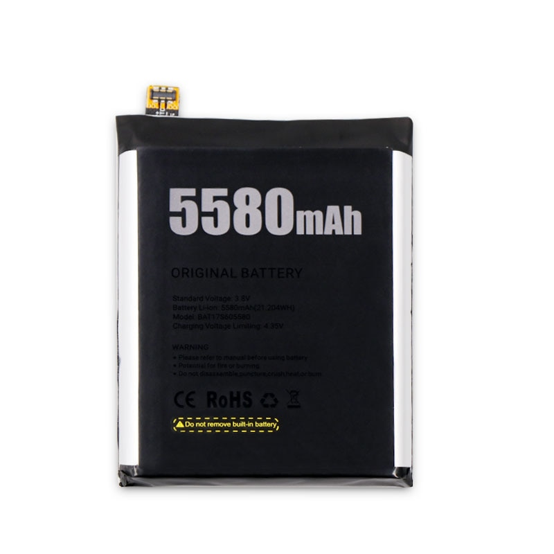 5580mAh Long Time Standy battery For Doogee S60 phone Replacement Batteries For Doogee S60 Lite +Tools enlarge