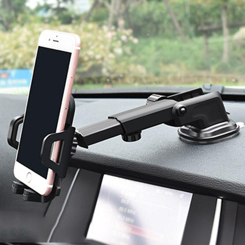 Soporte para móvil de coche para iPhone xiaomi pocofone f1 google home min samsung s8 soporte para teléfono móvil Smartphone