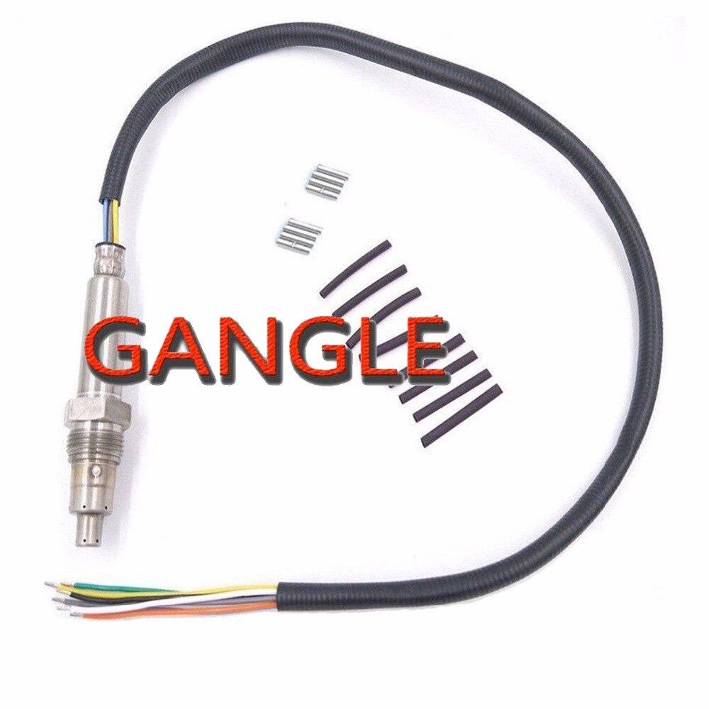 Sonda de sensor de nox manufacturado novo #11787587129 11787587130 para bmw e81 e82 e87 e88 e90 e91 e92 e93 12 v/24 v mercedes-benz vw audi