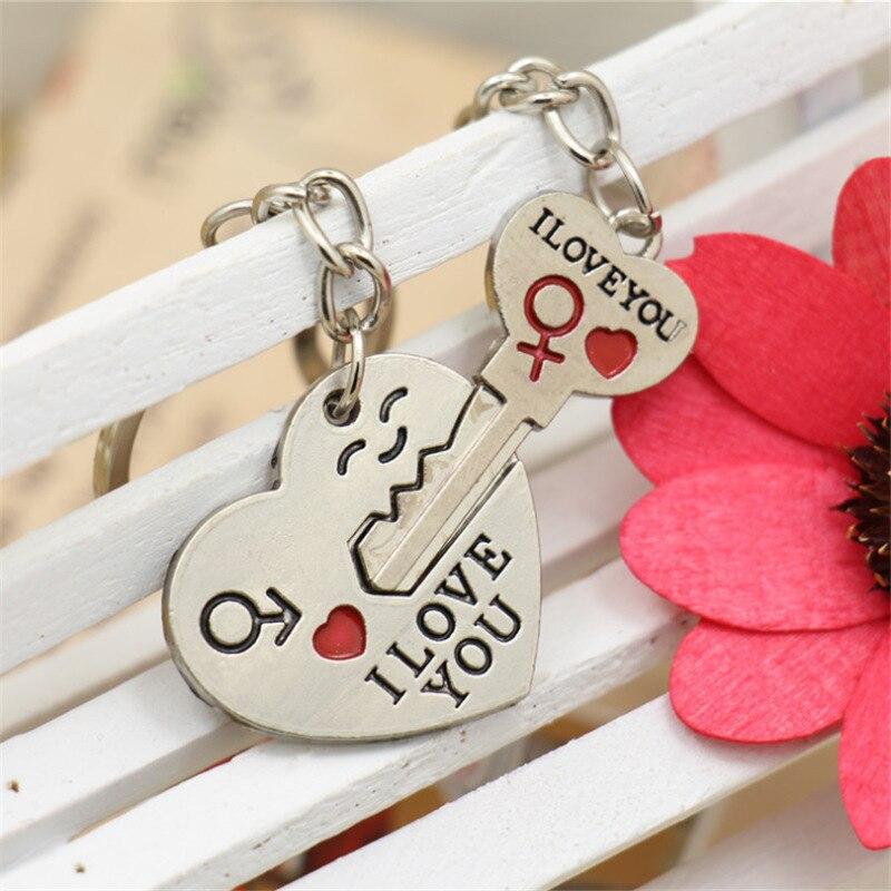 Романтичный-брелок-в-форме-сердца-и-ключей-на-День-святого-Валентина-брелок-с-надписью-«i-love-you»-подарок-на-помолвку