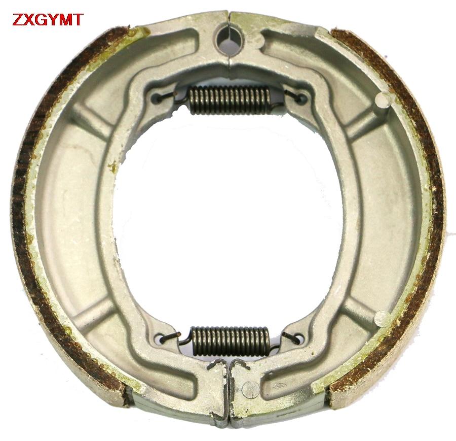 Sinterer hh pastilhas de sapato de freio conjunto apto yamaha xc 125 xc125 cygnus f 2000 - 2008 frente tambor traseiro 08 00 07 06 05 04 03 02 01