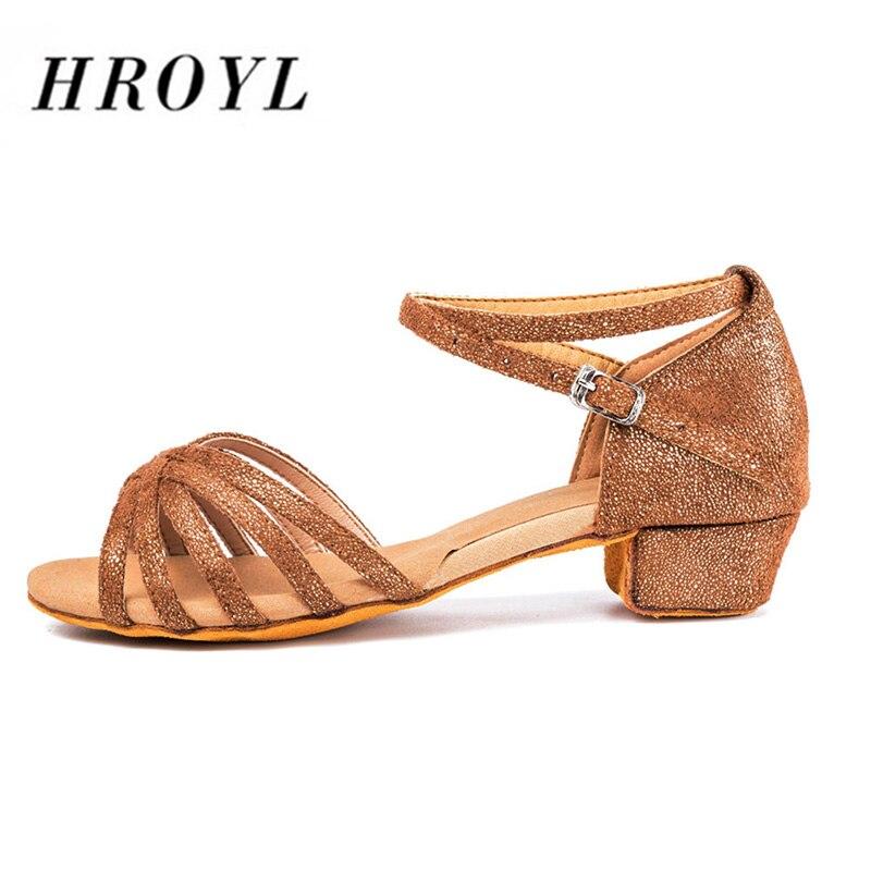 Nuevos zapatos de baile latino para mujer, zapatos de baile para niños y niñas, zapatos de baile latino Tango, zapatos de baile de salón de tacón bajo