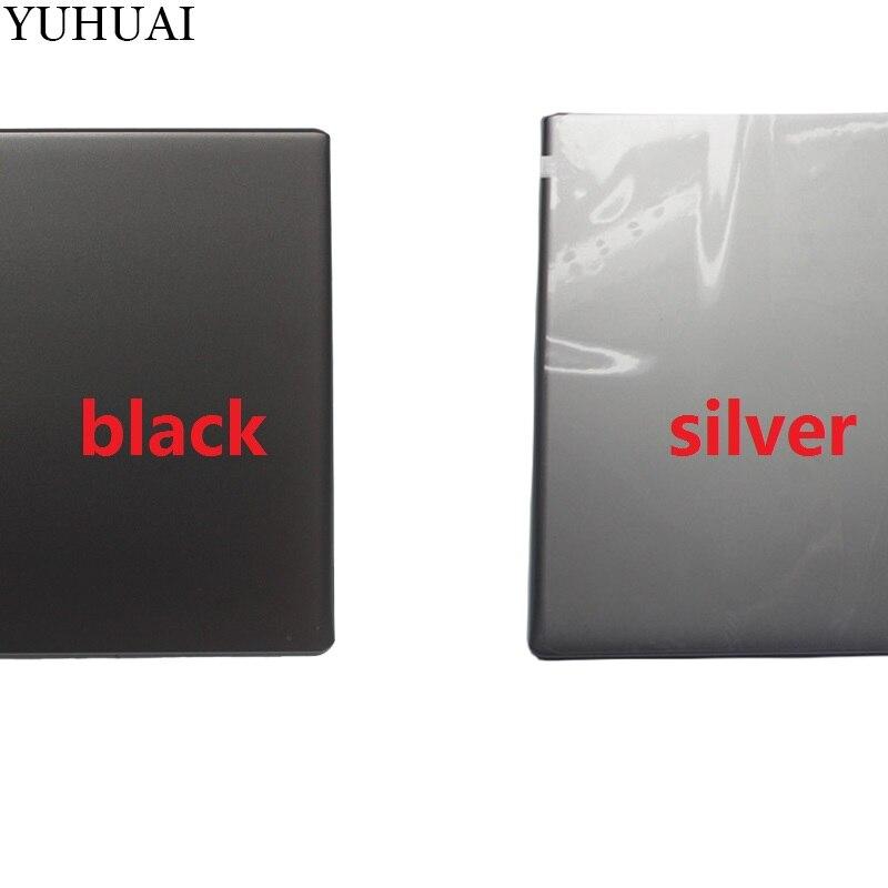 NUEVA cubierta de la pantalla superior del ordenador portátil LCD carcasa trasera una tapa para Acer V5-571PG V5-531P V5-571P plata/Negro LCD trasera funda (para pantalla táctil)