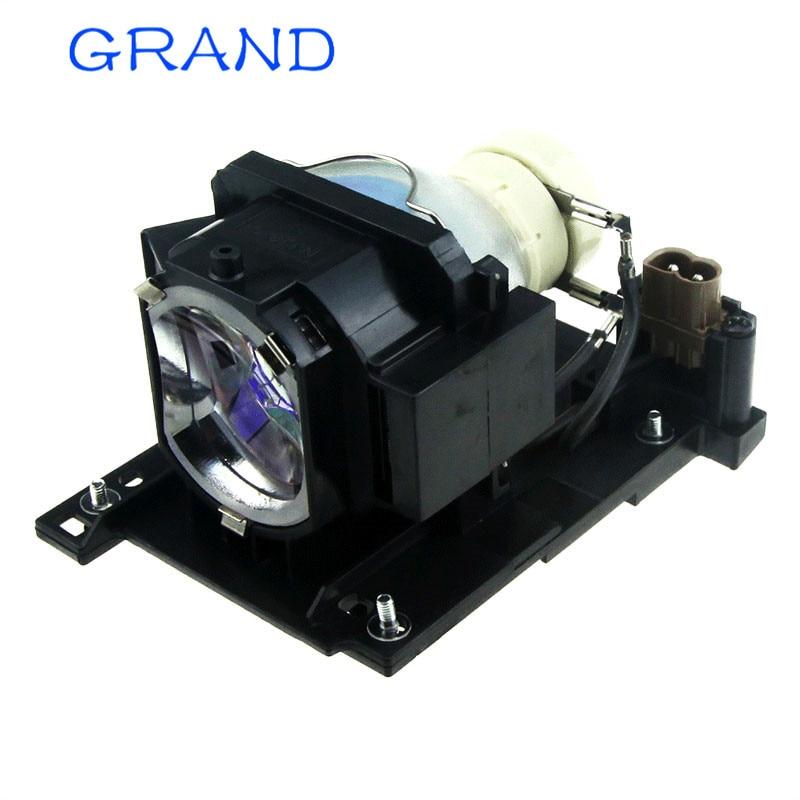 DT01021 lámpara de proyector para Hitachi CP-X2511 CP-X2511N CP-X2510Z CP-X2514WN CP-X3010 CP-X3010N CP-X3011 con vivienda feliz BATE