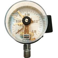YXCA-100 0-0.16Mpa ammoniac type de contact magnétique manomètre à contact électrique manomètre à contact électrique