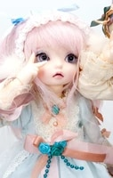 free shippingmakeupeyes includedtop quality 16 bjd luna rose open dreaming face baby doll exquisite toy adult kids gifts