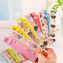 Petits animaux bloc-Notes mignon stationnaire coréen créativité Notes autocollantes Kawaii autocollants mémo feuilles planificateur autocollants papeterie