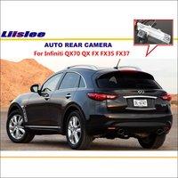 Liislee Car Rear View Camera For Infiniti QX70 QX FX FX35 FX37 / Reverse Camera / HD CCD RCA NTST PAL / License Plate Lamp CAM