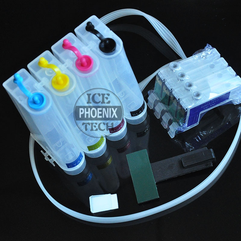 Para Epson XP412 XP415 XP 412 XP 415 Europa cartucho de tinta de impresora sistema de tinta CISS vacío T1811 18 tinta