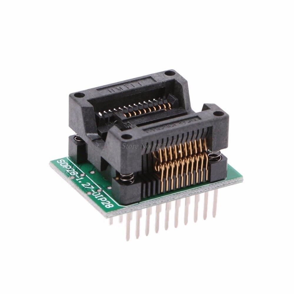 SOP28 Adapter Socket DIP28 to SOP16 SOP20 300mil Chip Programmer 20pin Feet Dropship