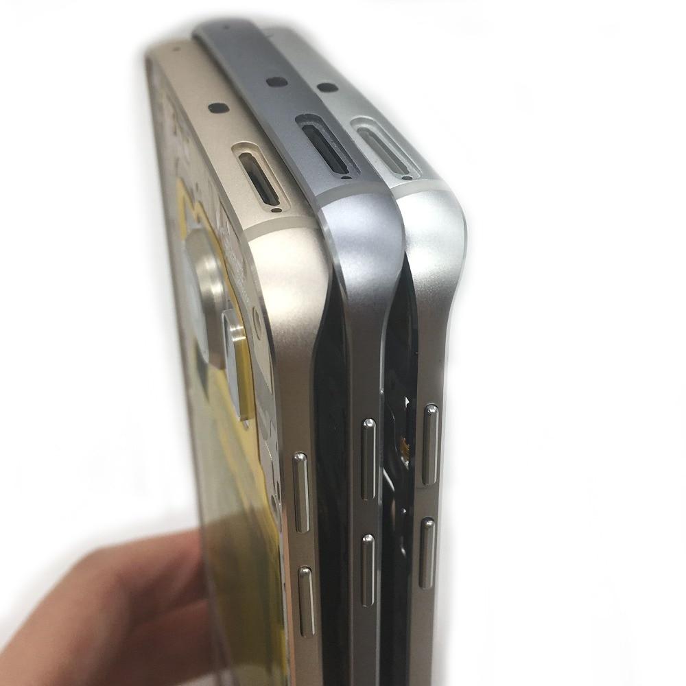 BINYEAE bisel de Marco medio chasis carcasa + lente de cámara para Samsung Galaxy S6 Edge G925 G925F G925I G925W8 G925A, S6 G920 G920F