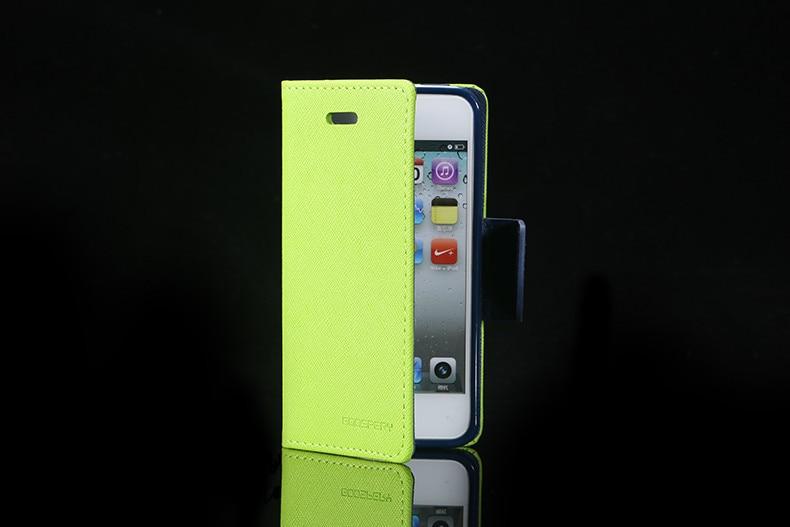 Podwójny kolor klapki skóra telefon torba case dla iphone 6 7 6 s plus 5 5S se gniazda kart + stojak kabura pokrowiec case dla iphone 7 6 6 s 19