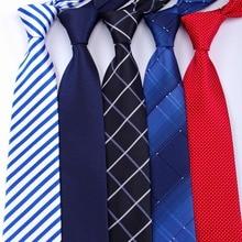 20 Style Formal Ties Business Vestidos Wedding Classic Mens Tie Stripe Grid 8cm Corbatas Dress Fashion Accessories Men Necktie