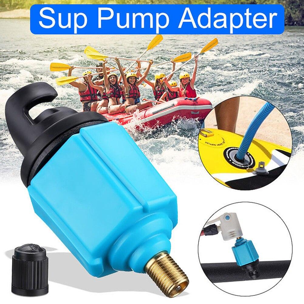Compresor de aleación resistente profesional Mini convertidor de aire bote inflable Sup bomba adaptador de alta resistencia Kayak accesorio