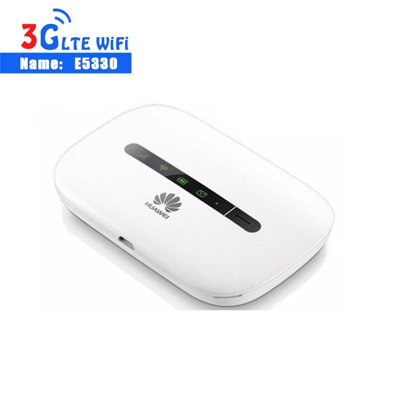 Desbloqueado huawei e5330 móvel 3g 21mbps roteador wi-fi mifi hotspot 3g wi-fi dongle 3g sem fio hotspot roteador