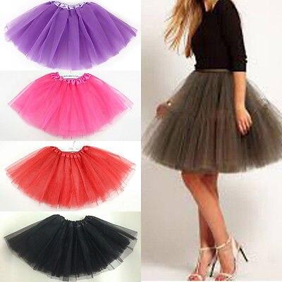 Mujeres/adultos Fancy tutú de baile princesa pettiskirt faldas de fiesta Mini colorido Tutu Lace Sexy faldas