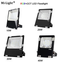 Miboxer FUTT02/ FUTT03/FUTT04 /FUTT05/FUTT06 10W/20W/30W/50W RGB+CCT LED Flood light AC100-240V DC24V IP65 Outdoor Garden Light