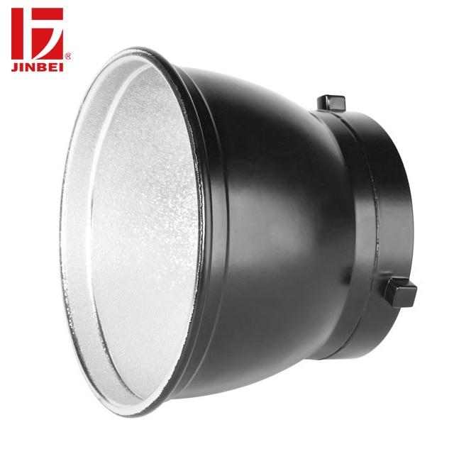 "JINBEI 13cm 5"" Portable Umbrella Reflector Bowens Mount Photography Accessories for Flash Strobe Light"