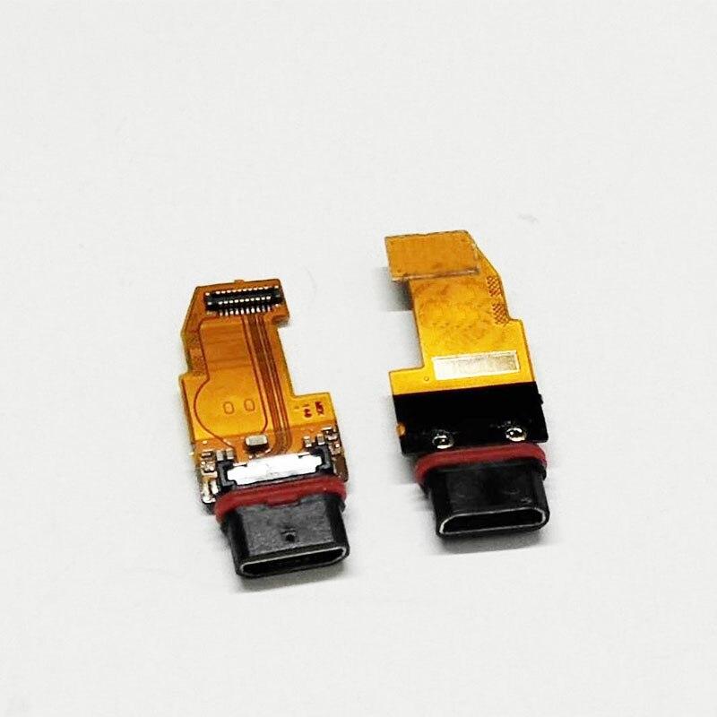 Puerto de carga USB flexible Cable para Sony Xperia X Performance XP F8131 F8132 USB cargador conector piezas de placa