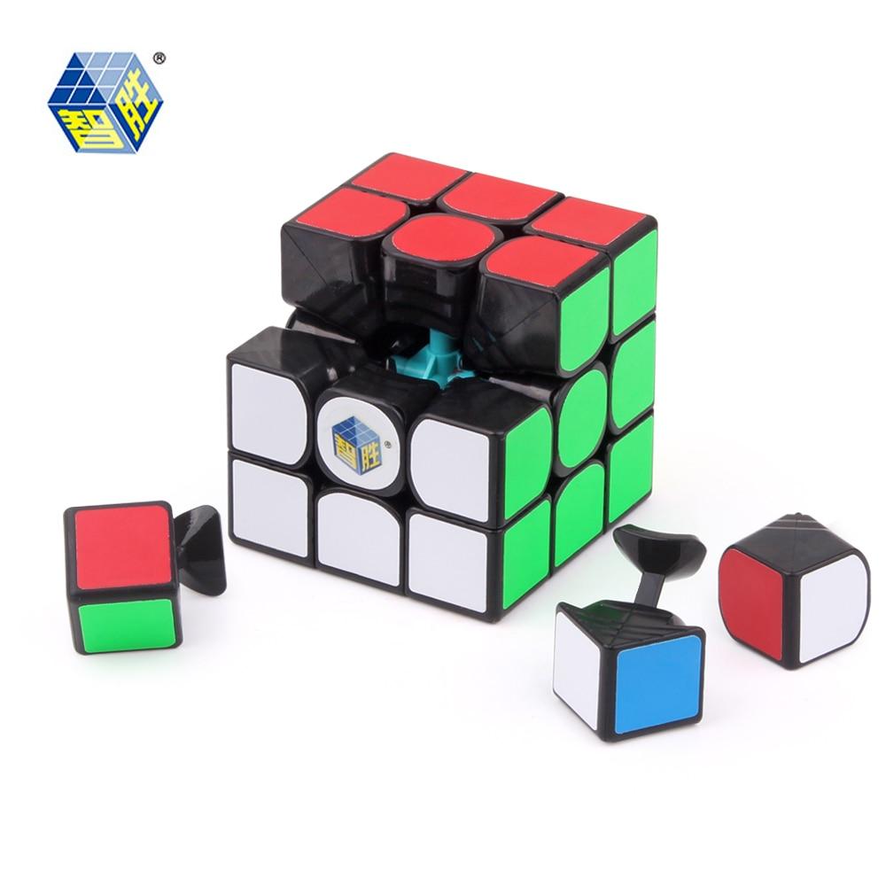 YUXIN ZHISHENG cubo mágico pequeño profesional 3x3x3 rompecabezas cubo educativo juguetes cubo mágico
