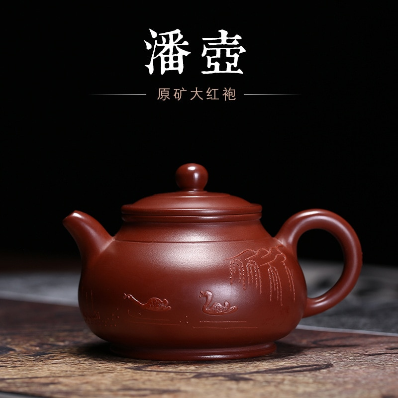 Yixing غير الملبوسات خام شاي سيراميك-وعاء إناء فخار وعاء عموم تشو البنفسجي arenaceous الحرف بالجملة مخصص اليدوية طقم شاي