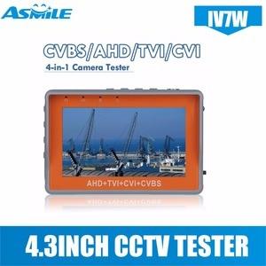 IV7W 4.3inch CCTV AHD TVI CVI tester monitor  with  CCTV Security Tester monitor with 4.3inch Screen 5V2A 12v1A