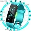 2019 חדש ספורט חכם צמיד גברים חכם שעון נשים כושר גשש חכם צמיד לב שיעור לחץ דם צג Smartwatch