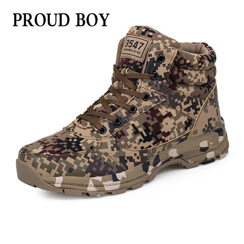 Zapatos de senderismo de invierno para hombre a prueba de agua mantener caliente antideslizante al aire libre senderismo Trekking zapatos camuflaje escalada zapatillas tamaño 35- 46