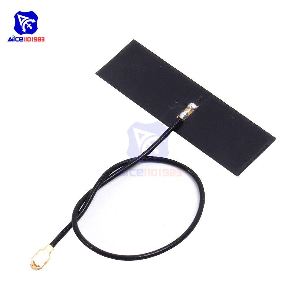 Diymore 2,4G 5dBi IPEX антенна 50 Ом с FPC мягкая антенна для ПК Bluetooth WiFi