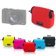 Sac photo en néoprène pour SONY HX50 HX60 HX80 HX90 RX100 RX100II V M3 RX100M4 M5 WX500 DSC-HX90V caméra Étui Protecteur pochette