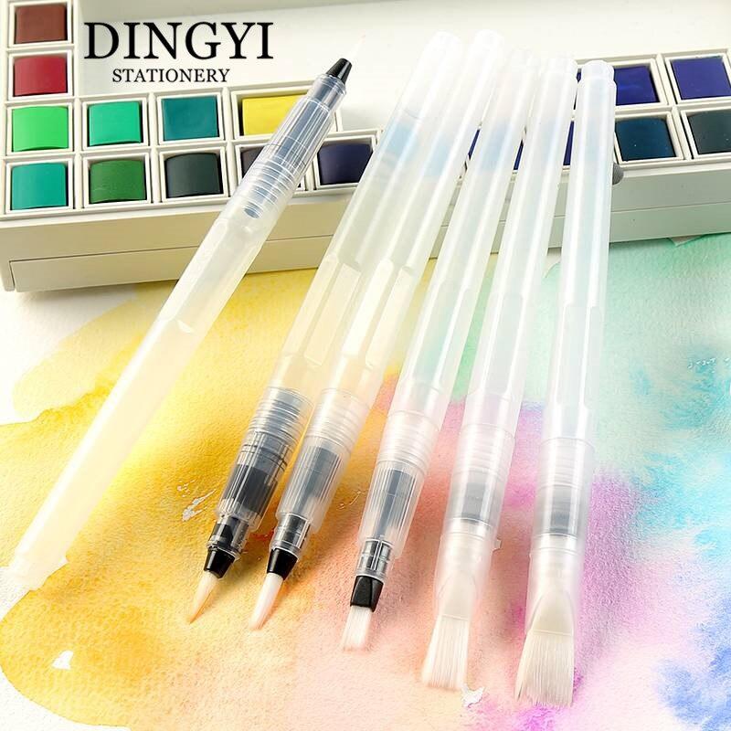 DINGYI stylo à eau professionnel coloriage doux pinceau artistique pour dessin aquarelle peinture calligraphie stylo Set Art fournitures