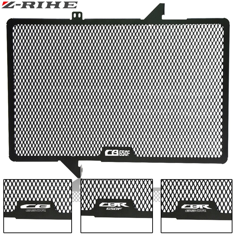 Cubierta protectora de rejilla de radiador de motocicleta para Honda CBR650F CB650F 2014-2018 CB650R 2019 CBR650R 2019