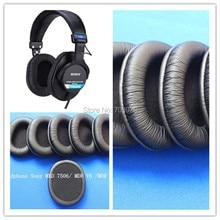 Linhuipad-écouteurs en cuir MDR 7506 V6 CD 900ST, coussin doreille de remplacement pour SONY, paquet de 8