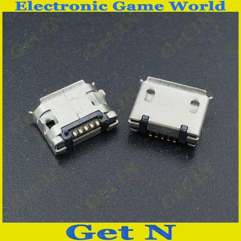 مايكرو USB جاك USB الإناث موصل Soeckect قصيرة نوع ل الهاتف ، اللوحي ، MP3 ، MP4 4000 قطعة/الوحدة