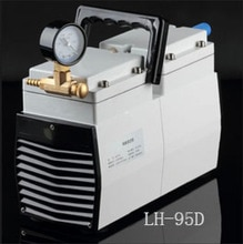 LH-95D Diaphragm Vacuum Pump Oil Free Dual Head 67