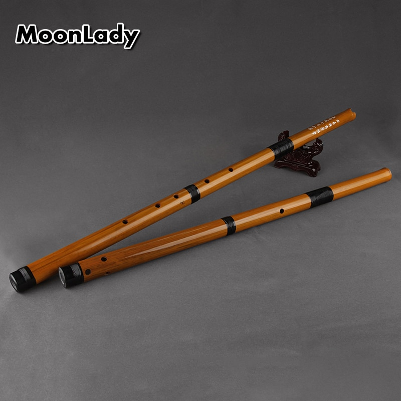 F/G Key Vertical Bamboo Flute 6 Holes Brown Musical Instreuments Chinese Handmade Woodwind Instrument Easy to Learn недорого