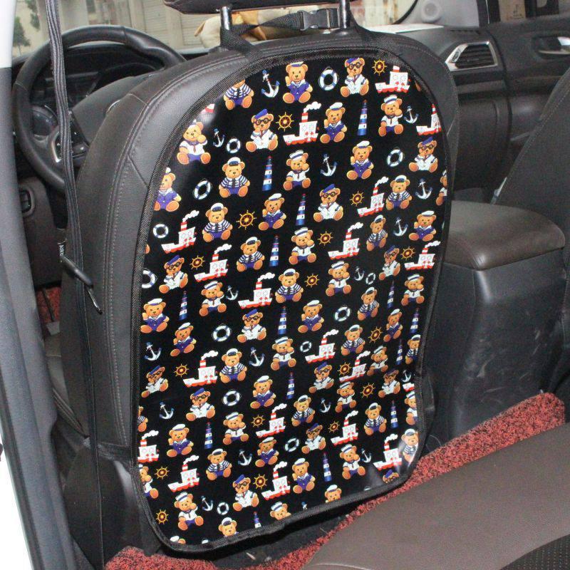 Cubierta protectora de asiento trasero de coche para niños, alfombrilla para limpiar el barro, protección para niños, Fundas protectoras para bebés