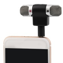 Mini micrófono estéreo portátil Mic 3,5mm Mini Jack ordenador portátil caída caliente canal izquierdo y derecho disco ESTÉREO