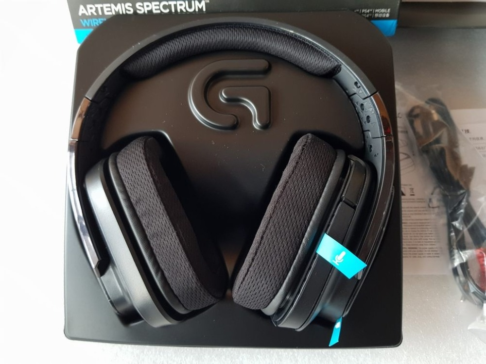 UTILIZZATO Logitech G933 Circumaurale Senza Fili 7.1 Surround Sound Gaming Headset trasporto libero