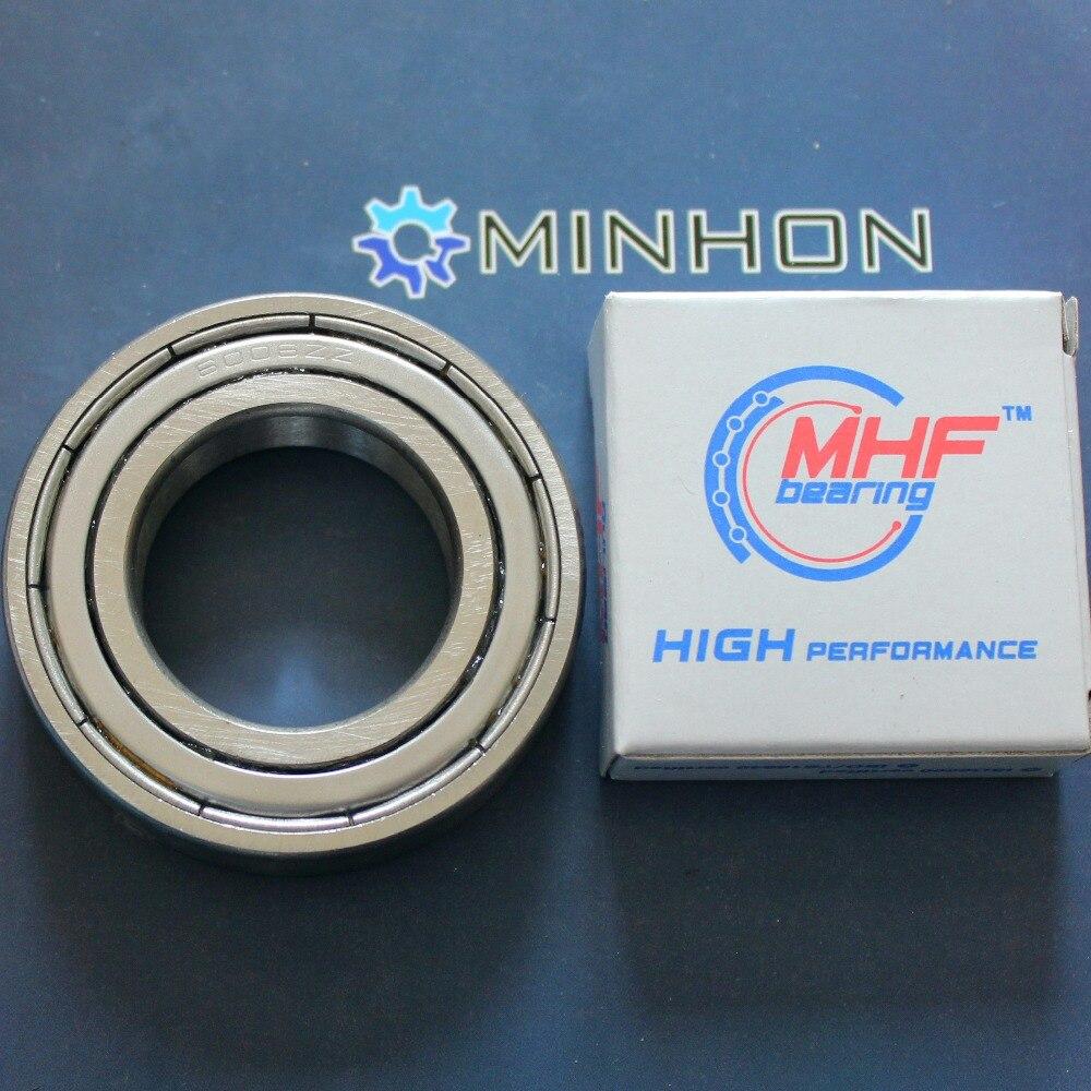 Бесплатная доставка MHF 2 шт 6006ZZ радиальные шарикоподшипники размер 30*55*13 мм Лучшая цена высокая производительность