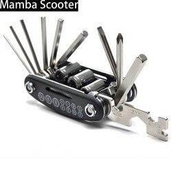 Многофункциональный мини-инструмент для ремонта велосипедов 16 в 1, набор для скутеров Xiaomi M365, Qicycle EF1, складная отвертка для велосипеда, шестигранный гаечный ключ