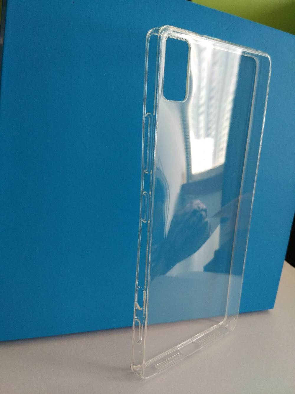 New Ultra Transparent Silicon case Clear soft case For Lenovo Z90-7/ Z90-3 good quality in stock free shipping enlarge
