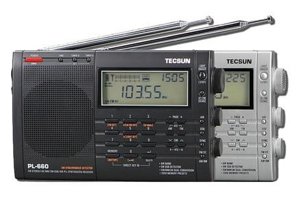 TECSUN PL-660 радио PLL SSB VHF AIR Band радио приемник FM/MW/SW/LW радио многополосное Двойное преобразование TECSUN PL660