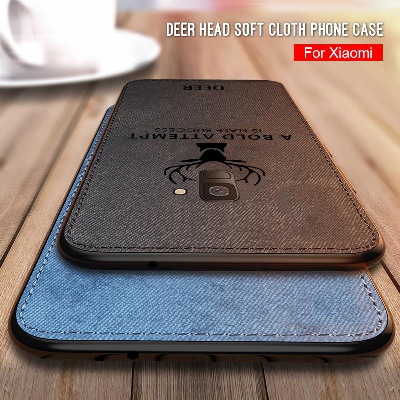 Cloth Deer Phone Case For Samsung Galaxy J6 J4 Plus 2018 J7 J5 J3 Pro Soft Silicone Back Case For Samsung A7 A9 A6 A8 Plus 2018