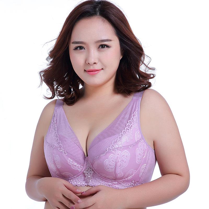 Большие чашечки, легкие и тонкие, без губки, кружева, сексуальный, ультра-тонкий, большой бюстгальтер, Ms. Fat mm, нижнее белье, modis, плюс размер, бю...